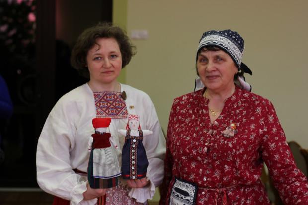 Елена Тикка и Галина Сафиулина