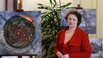 Председатель Петербургского Общества ингерманландских финнов - Елена Тикка - на Дне Калевалы