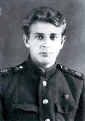Тойво Иванович Курхинен во время учебы в техникуме