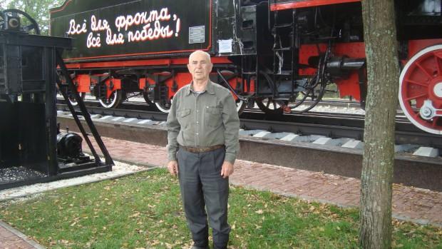 Тойво Иванович Курхинен на станции «Ладожское озеро», 2012 год