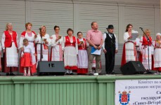 Поем гимн Ингерманландии