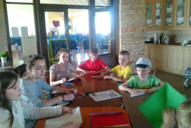 мастер-класс по оригами  Аня