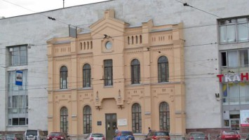 Фрагмент старого фасада Финл вокзала
