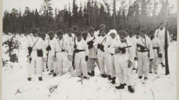 6 лекция Jalkav'kirykmentti 33 n kaukopartiojohtaja